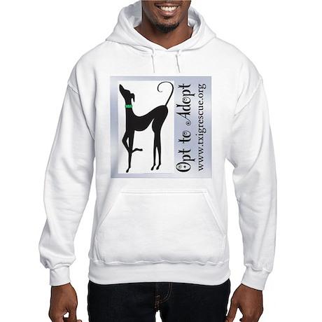 Opt to Adopt Hooded Sweatshirt