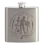 Celtic Chieftain Coin Flask