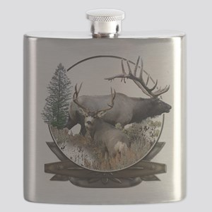 Big Game elk and deer Flask