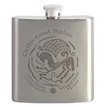 Celtic Epona Coin Flask