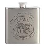 Celtic Lion Coin Flask