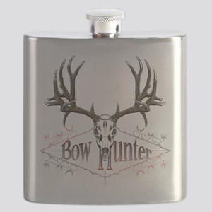 Bow hunting,deer skull Flask