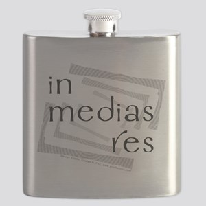In Medias Res (Latin) Flask