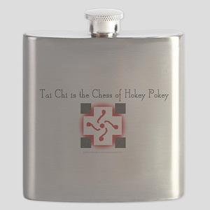 taichichess-shirt Flask