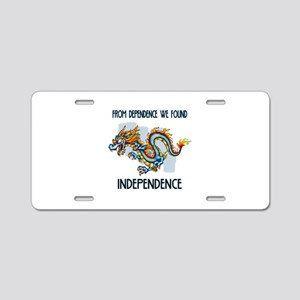 KeepsakeBox Aluminum License Plate