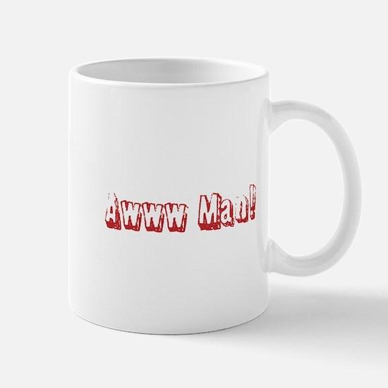 Cute Awww man Mug