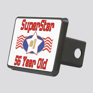 SUPERSTARbirthday56 Rectangular Hitch Cover