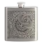 Cosmic Thing Illustration Flask