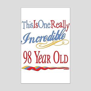 Incredibleat98 Mini Poster Print
