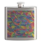 Cosmic Ribbons Flask