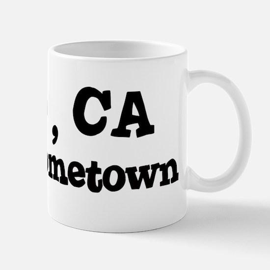 Indio - hometown Mug