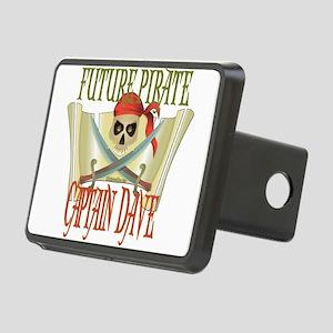 PirateDave Rectangular Hitch Cover