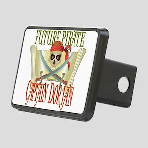 PirateDorian Rectangular Hitch Cover