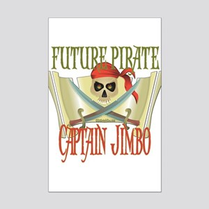 PirateJIMBO Mini Poster Print