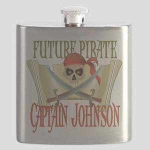 PirateJOHNSON Flask