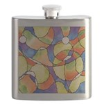 Carnival Balloons Abstract Flask