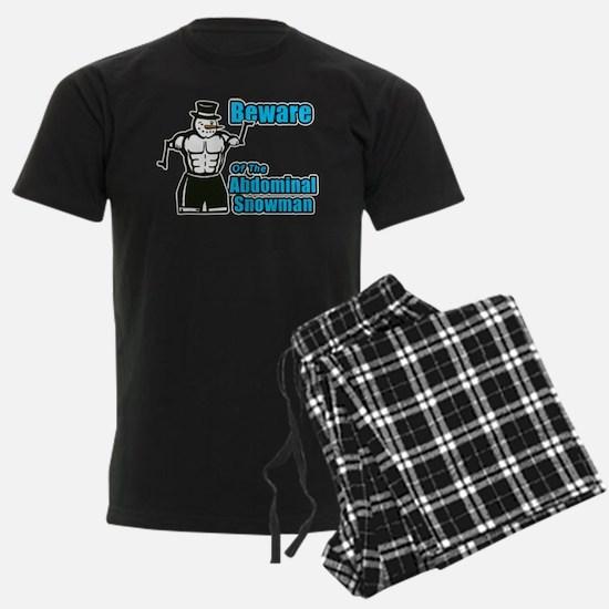 Abdominal Snowman Pajamas