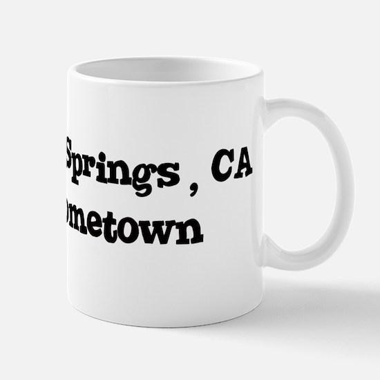 Bear Valley Springs - hometow Mug