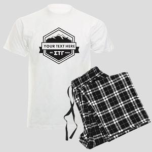 Sigma Tau Gamma Mountains Ribbons Pajamas