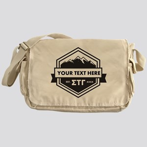 Sigma Tau Gamma Mountains Ribbons Messenger Bag