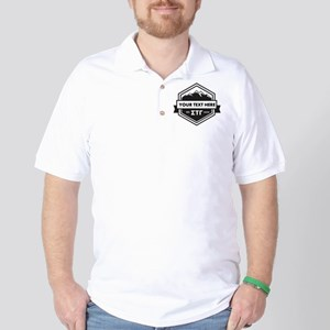 Sigma Tau Gamma Mountains Ribbons Golf Shirt