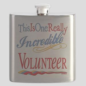 Incredible VOLUNTEER Flask