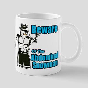 Abdominal Snowman Mug