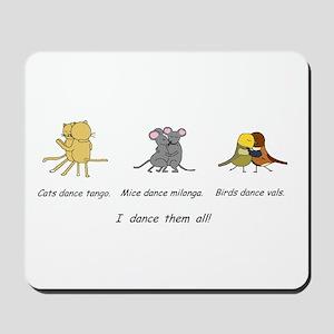 Tango Vals Milonga Mousepad