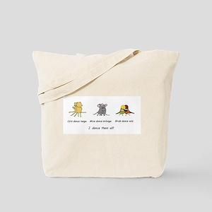 Tango Vals Milonga Tote Bag