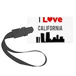 I Love California Large Luggage Tag