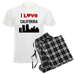 I Love California Men's Light Pajamas