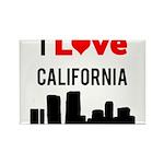 I Love California Rectangle Magnet (10 pack)