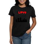 I Love California Women's Dark T-Shirt