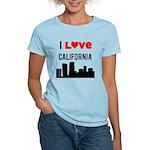 I Love California Women's Light T-Shirt