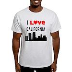 I Love California Light T-Shirt