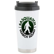SASQUATCH SEARCH SQUAD Stainless Steel Travel Mug