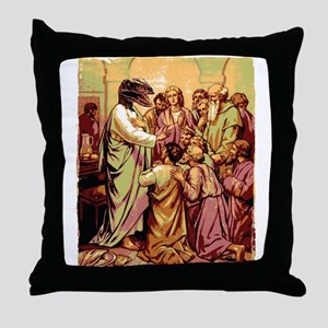 raptor jesus pillows cafepress