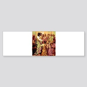 Jesus Raptor Sticker (Bumper)