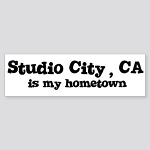 Studio City - hometown Bumper Sticker