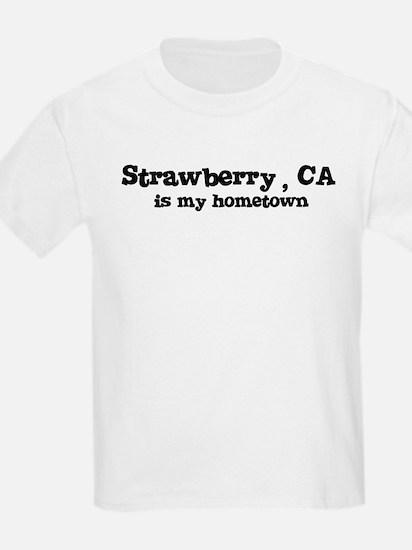 Strawberry - hometown Kids T-Shirt