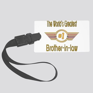 GREENbrotherinlaw Large Luggage Tag