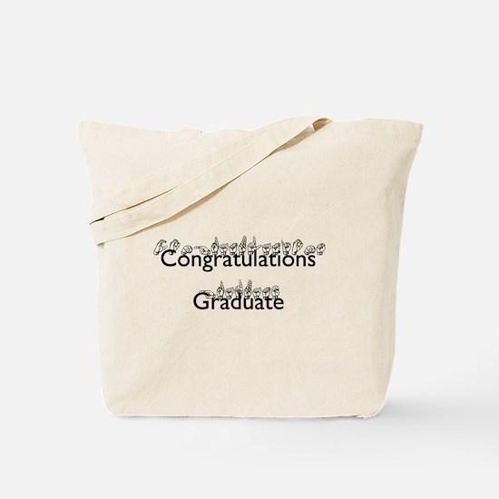Congratulations Graduate Tote Bag