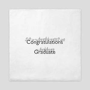 Congratulations Graduate Queen Duvet