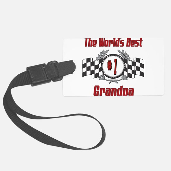 Racing1GRANDPA.png Luggage Tag