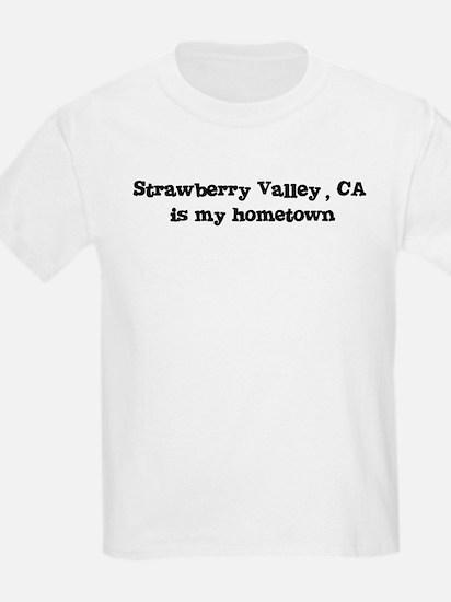 Strawberry Valley - hometown Kids T-Shirt