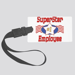 SUPERSTARemployee Large Luggage Tag