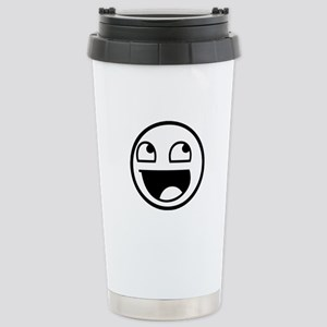 Awesome Face Stainless Steel Travel Mug