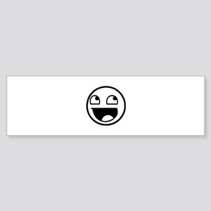 Awesome Face Sticker (Bumper)