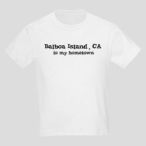 Balboa Island - hometown Kids T-Shirt