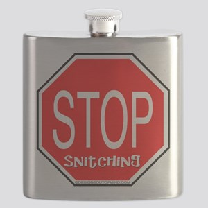 10x10_apparelstopsignsnitching copy Flask